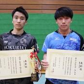 卓球部「全日本学生選抜卓球大会(インカレ個人の部)」へ4名出場決定