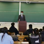 入国規制緩和後初めて、留学生が登学開始