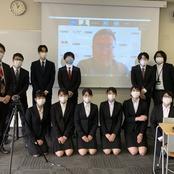 田尻ゼミ ㈱ぐるなびとの連携プロジェクトをオンライン発表