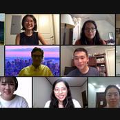 プリンストン・イン・石川の参加学生とオンラインで国際交流