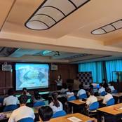 連携協定校・金沢高校で本学説明会を開催