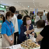 石川県主催の防災イベントに出展