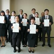 北陸大学特別奨学金の奨学生認定書授与式を挙行(太陽が丘)